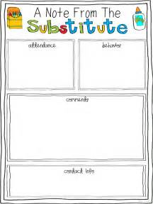 Feedback Report Template free substitute teacher report template substitute