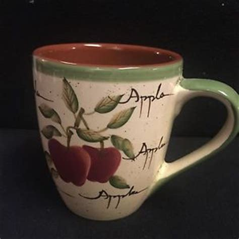 home interiors apple orchard collection home interior apple orchard 1 coffee cups ebay