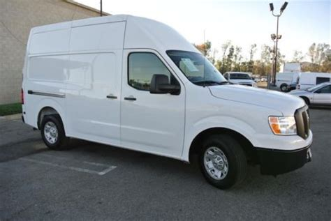 Nissan Transit by Find Used Nissan Nv 2500 High Top Hi Cargo Plumber