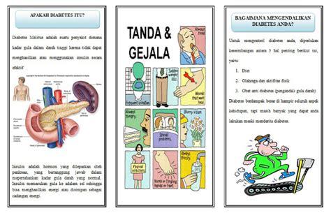askep diabetes melitus askep33 asuhan keperawatan leaflet diabetes melitus