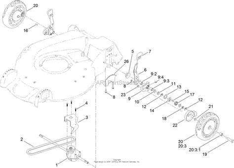 toro mower parts diagram toro 20383 recycler lawn mower 2014 sn 314000001