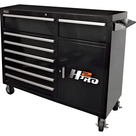 2 drawer tool cabinet homak h2pro 56in 8 drawer roller tool cabinet with 2