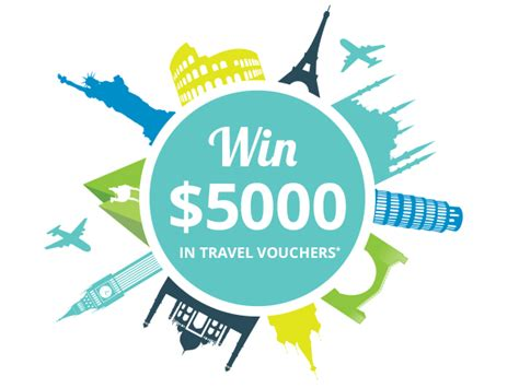 Voucher Competition 3 Way System 1 Power 26 2 Jt win 5000 in travel vouchers and earn a well deserved escape healthengine