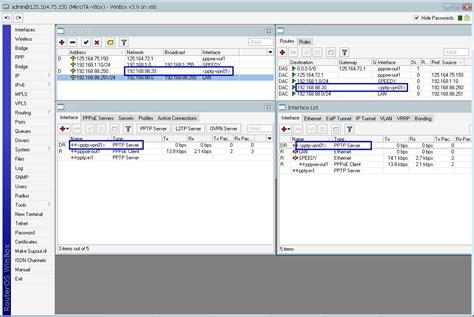 membuat vpn client mikrotik kumpulan tutorial mikrotik tutorial membuat koneksi vpn