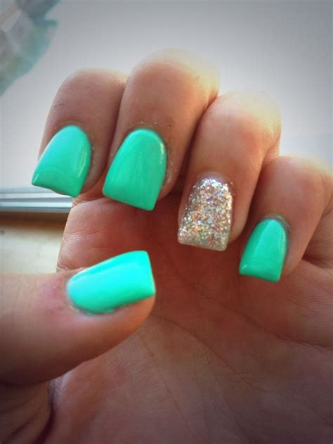 teal gel nail designs best 20 teal nail designs ideas on pinterest