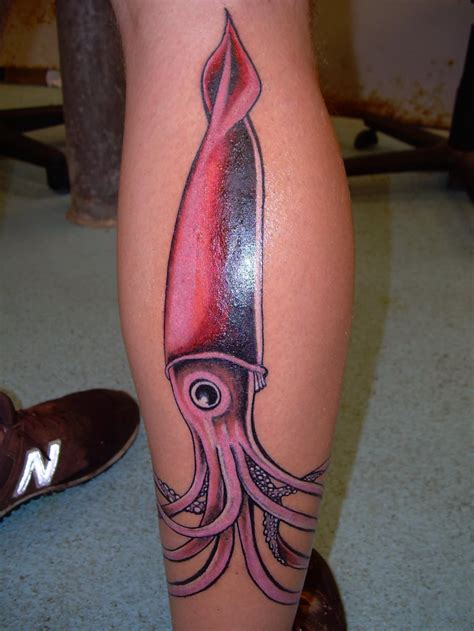 squid ink tattoo 58 mind blowing squid tattoos