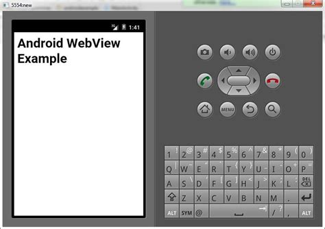 android findviewbyid android webview exle the programmer