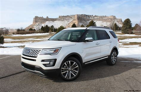 2016 Ford Explorer Review by Road Test Review 2016 Ford Explorer Platinum With Tim