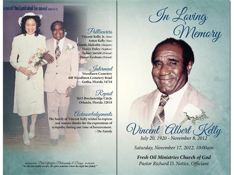 create obituary template want to create funeral program or obituary program using