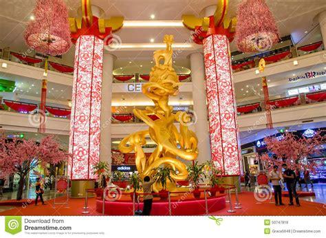 new year decoration malaysia new year decoration in berjaya times square kuala