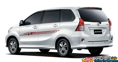 kereta range new toyota avanza 1 5l malaysia specification review