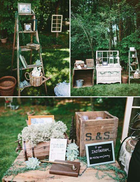 Rustic Backyard Wedding Ideas Rustic Chic Backyard Wedding Jimmy Green Wedding Shoes Weddings Fashion
