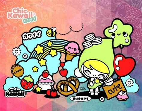 Collagen Kawaii dibujo de collage kawaii pintado por en dibujos net el d 237 a