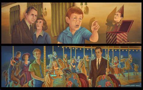 Serli Set 3 artwork from the twilight zone carousel opening in rod serling s hometown geektyrant
