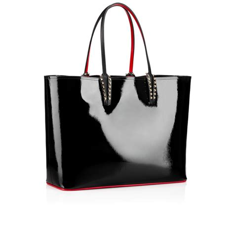 Christian Louboutin Tortoise And Patent Satchel Purses Designer Handbags And Reviews At The Purse Page by Christian Louboutin Cabata Tote Bag In Black Lyst
