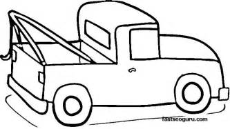 color trucks up truck coloring pages