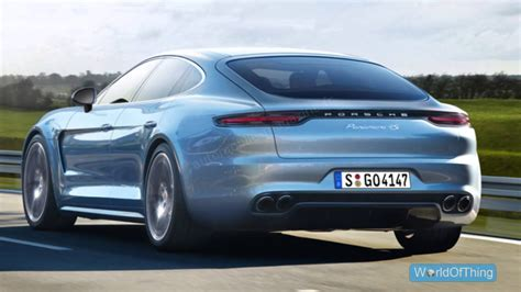2016 Porsche Panamera Pictures Information And Specs