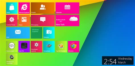 metro themes launcher ex pro android windows 8 metro launcher pro