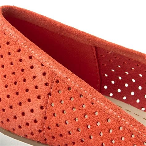 Clarks Evie Buzz Coral Suede Coral shoes clarks evie buzz 261238644 coral suede flats