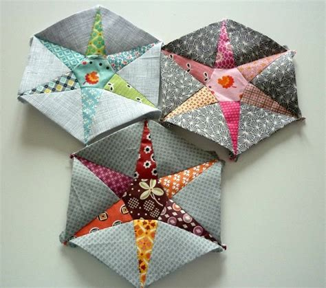 Patchwork Project - hexiestars 183 how to sew a patchwork cushion 183 sewing on