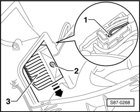 how to replace heater resistor skoda fabia skoda workshop manuals gt fabia mk2 gt heating ventilation air conditioning system gt heating