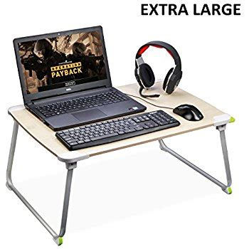 Portable Gaming Desk Brand Foldable Adjustable Laptop Stand For Table Sofa Bed Cherry Home