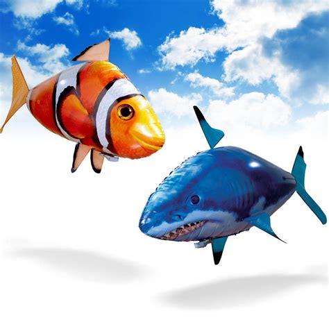 pesci volanti radiocomandati air swimmers incredibili pesci palloncini radiocomandati