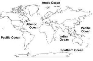 Continents And Oceans Blank Map by Pics Photos Blank Map Continents And Oceans
