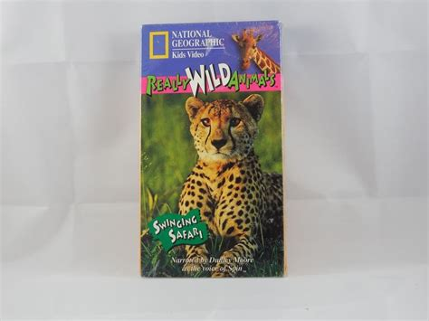 really wild animals swinging safari really wild animals swinging safari vhs 1994