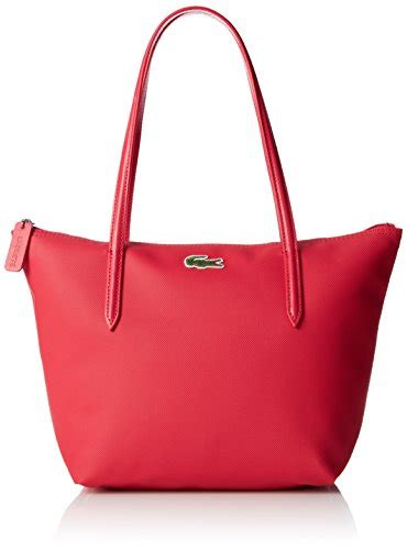New Tote Bag Lacoste Motif Banyak lacoste bag for lacoste s l 12 12 concept medium shopping bag pink one size