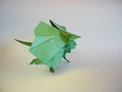 Origami Lizard Diagram - iguana fold these 28 awesome origami lizards