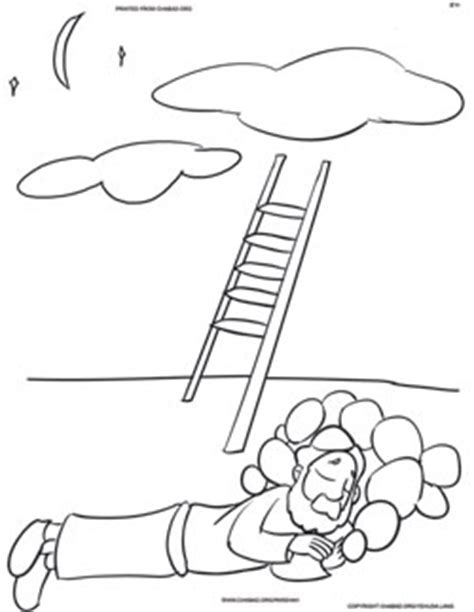 free bible coloring pages jacob s ladder vaeitzei coloring pages family parshah parshah