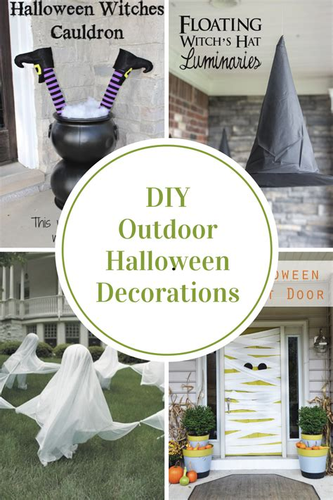 diy outdoor halloween decorations  idea room