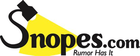 True Search Site Snopes Snopes Real Or Satire