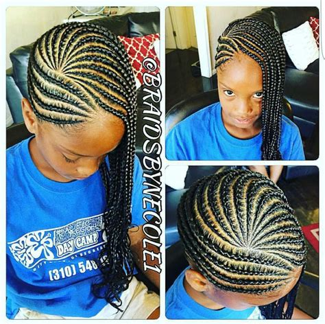 little kid hairstyles in braids children s cornrows natural hair style braids