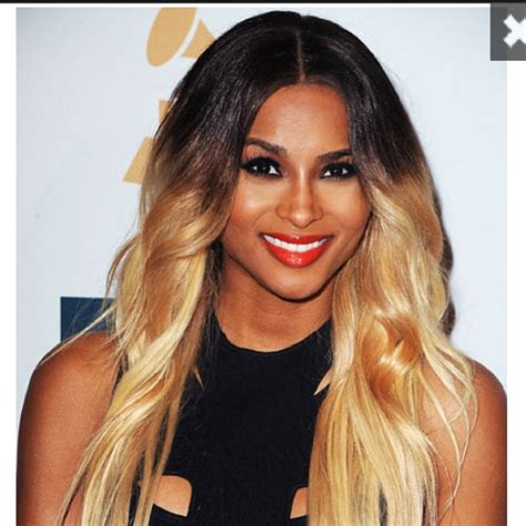ombre hair growing out bad ombre color looks more like her roots are growing out
