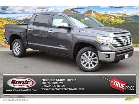 magnetic gray 2014 magnetic gray metallic toyota tundra limited crewmax 4x4 87056544 gtcarlot car