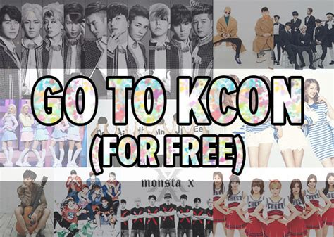 Kcon Tickets Giveaway - giveaway where when and how to win kcon tickets including right here soompi