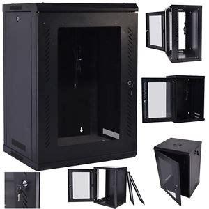 18u Wall Mount Cabinet 18u Wall Mount Network Server Data Cabinet Enclosure Rack