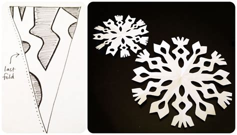 For Paper Snowflakes - is sweet paper snowflakes 101