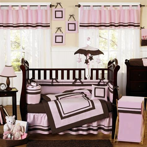 Brown Baby Crib Bedding 29 Best Pink And Brown Baby Bedding Images On Nursery Ideas Baby Room And Baby Rooms