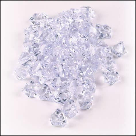 Clear Stones For Vases by 1200 Clear Plastic Gem Stones Free Shipping Vase Filler