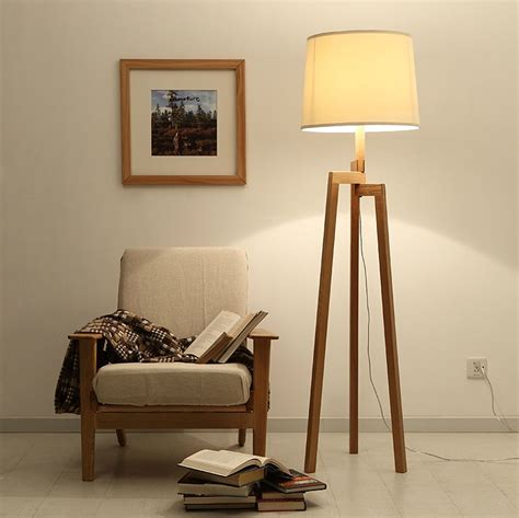 standing lights for living room modern wood floor ls for living room solid wooden