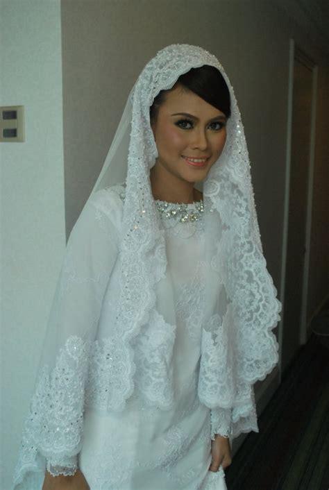 Gmc Dress Batik Kak Putih gorgeous white kurung moden