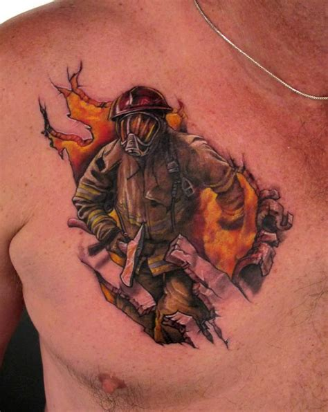 Firefighter Tattoos Firefighter Tattoos Designs