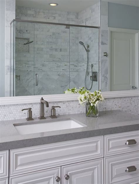ideas for bathroom countertops 17 best ideas about gray quartz countertops on
