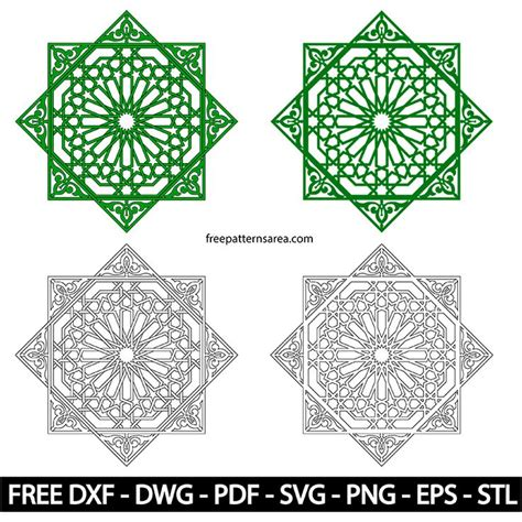 islamic pattern dxf 132 best cutting template images on pinterest creative