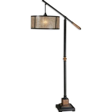 uttermost sitka lantern metal floor l in aged black