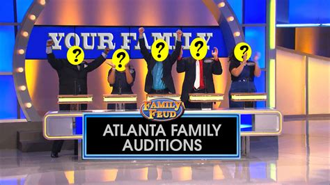 Family Feud Auditions 171 Atlanta S Cw69 What Is A Family Feud