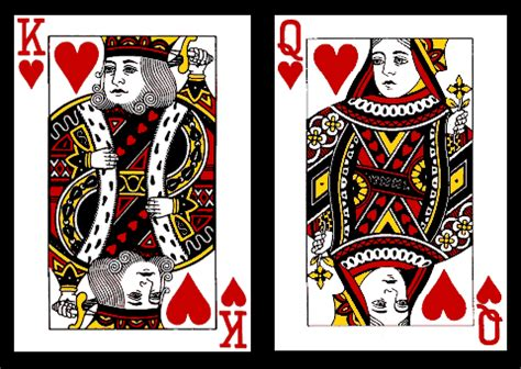king of hearts card template king and of hearts february 2 6 harding academy
